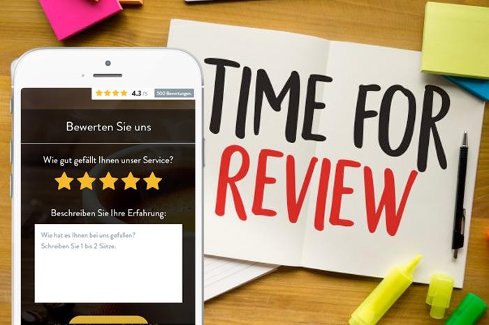 Einfache Wege, um Kunden um eine Google-Bewertung zu bitten