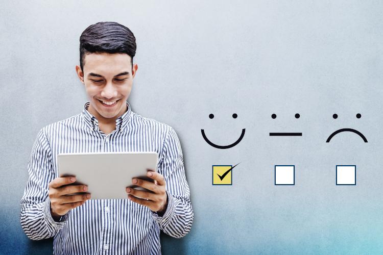 Kundenzufriedenheit mit WLAN fördern – Umfrage-Tool von net365