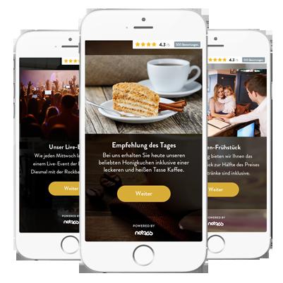 Informieren Sie Ihre Kunden über Angebote und Events